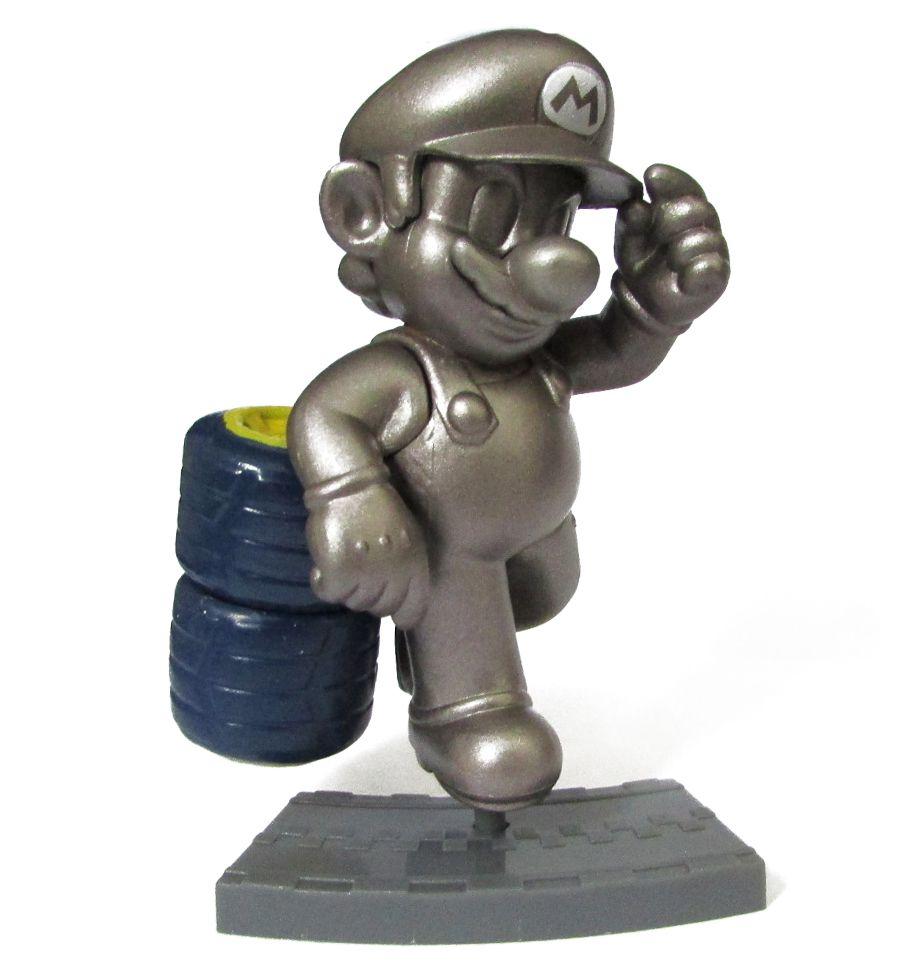 Action figure Coleção Mario Kart 7  8Cm - Metal Mario