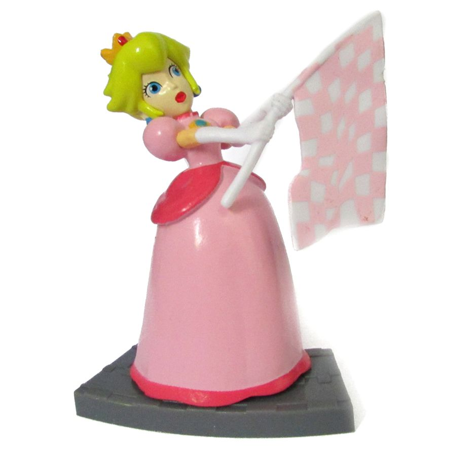 Action figure Mario Kart 7  7Cm - Princess Peach