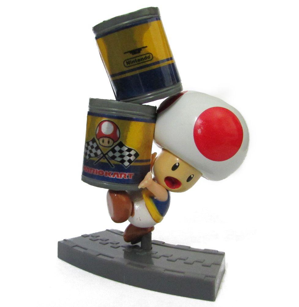 Action figure Coleção Mario Kart 7    7 Cm - Toad