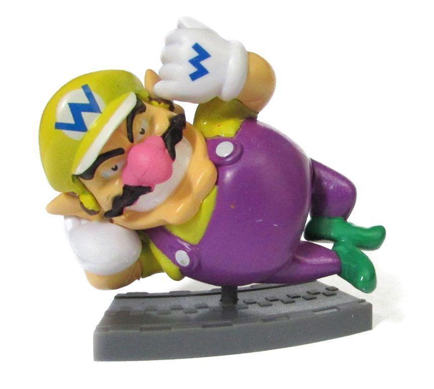 Action figure Coleção Mario Kart 7  5Cm - Wario