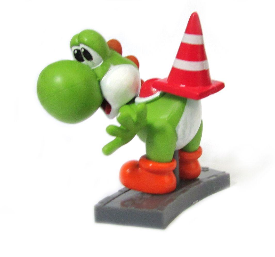 Action figure Coleção Mario Kart 7 6Cm - Yoshi