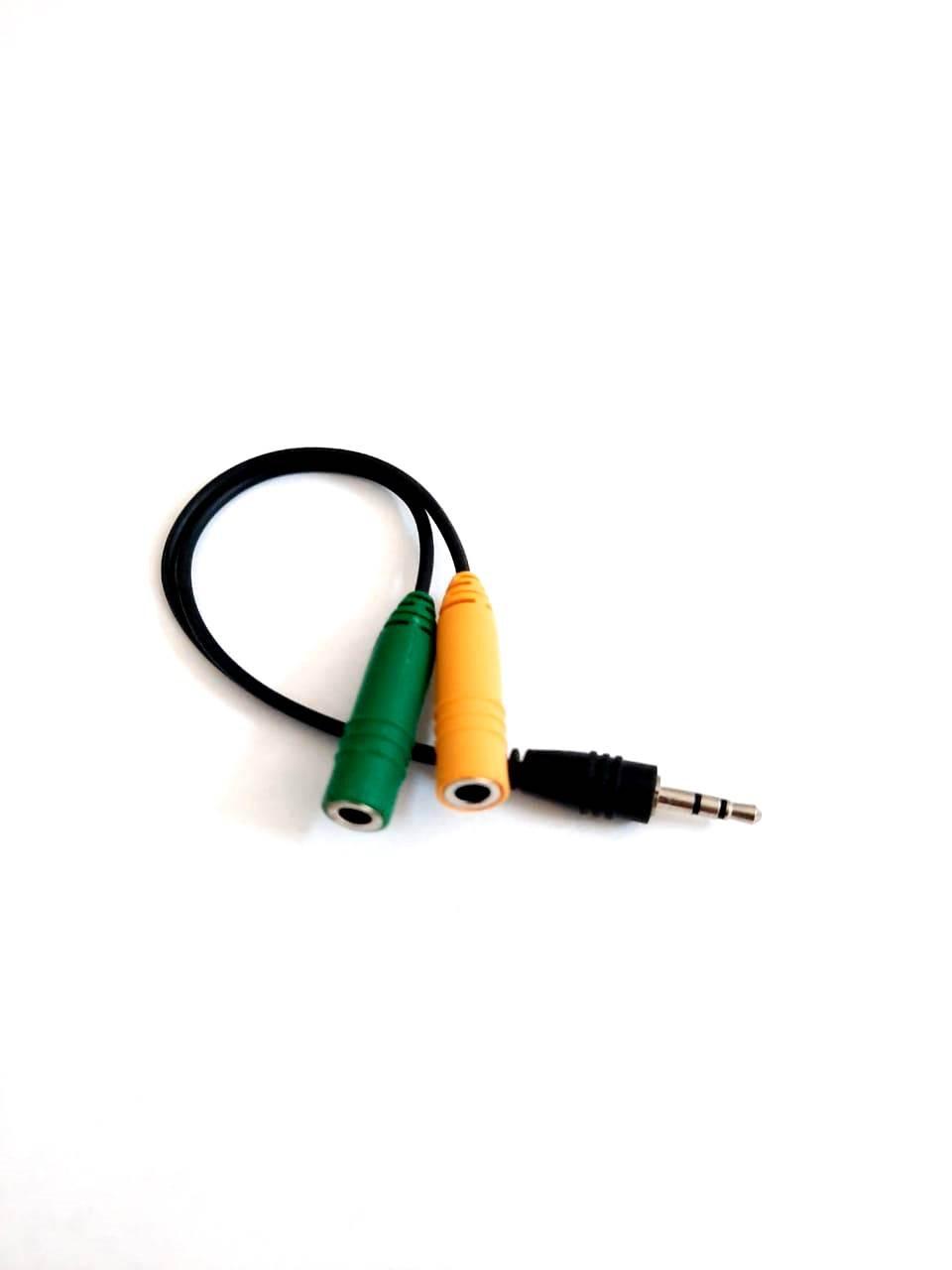 Cabo adaptador P1 p/ Fone de ouvido Controle Xbox 360