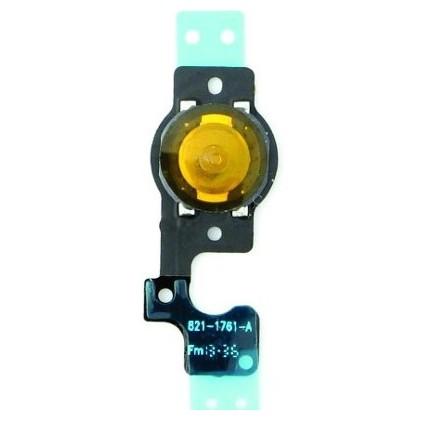 Cabo Flat Conector Botão Home Compatível iPhone 5c
