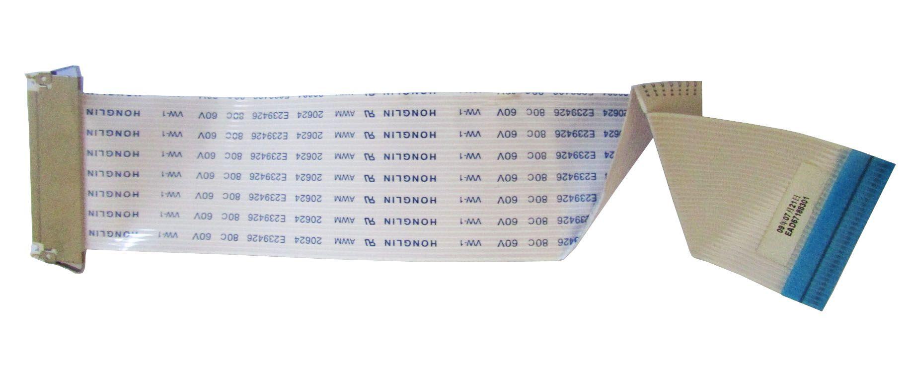 Cabo Flat Lvds Monitor LG W2043s P/N: Ead57188301 (semi novo)
