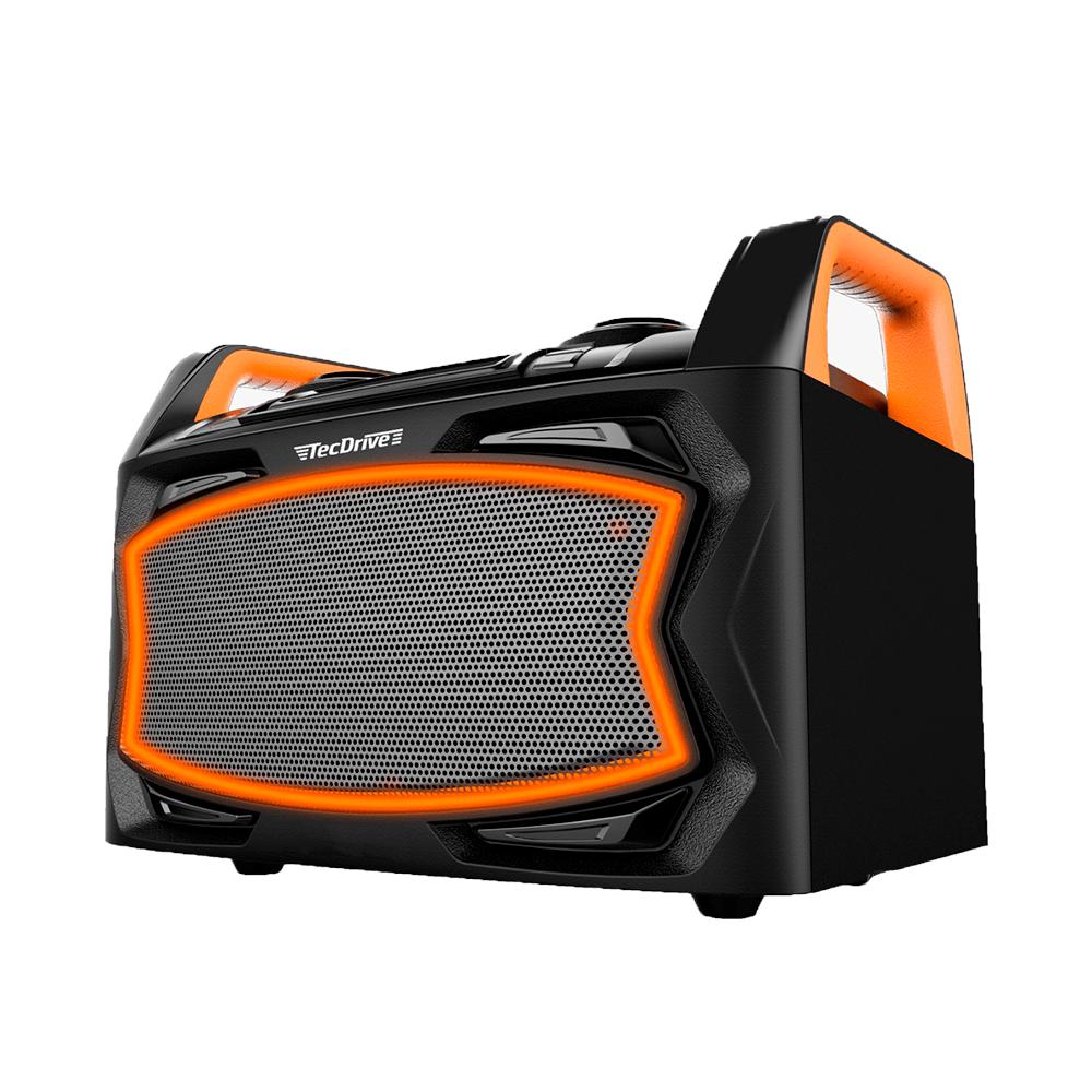 Caixa de Som Amplificada 90W RMS Tec-DJ90 TecDrive