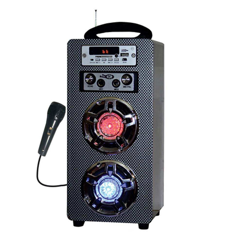 Caixa De Som Amplificada Bluetooth Usb/Sd/Fm 10W Rms Com Microfone X-Cell XC-USB.FM-3101BT