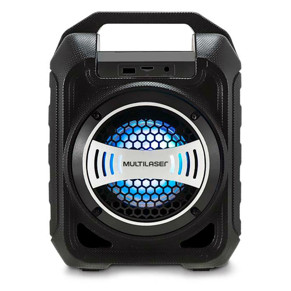 Caixa de Som Multilaser Bluetooth LED 30W - SP313