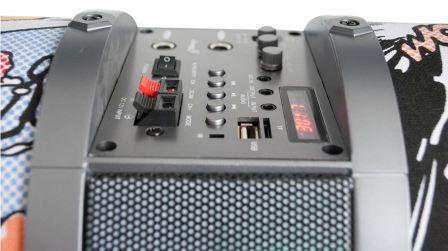 Caixa de Som Pulse Bazooka 120W XC-PB-04