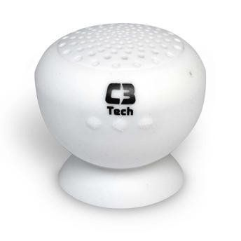 Caixa de Som Speaker C3Tech Sp-12b Bluetooth Branca