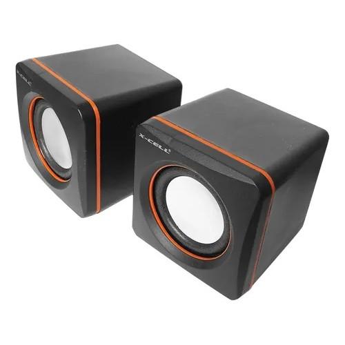 Caixa de Som X-Cell Para PC/Notebook P2 USB C/ Controle Vol. Pto - XC-CM-03