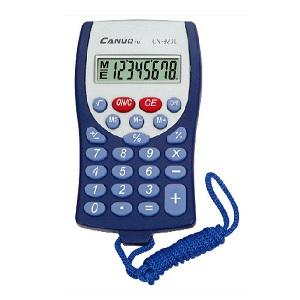Calculadora Eletronica Canuo CN-9201 Azul