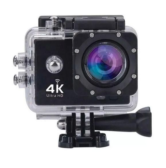 Camera Action Go Cam Pro Sport Full HD prova D'água função Webcam - 4K ULTRA HD
