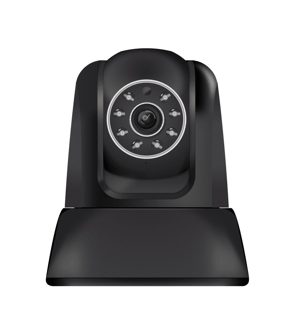 Câmera de Monitoramento Comtac IPCam 9267 WiFi Preto