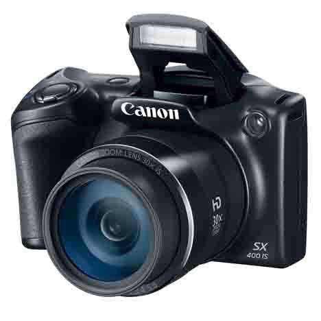 Câmera Digital Canon PowerShot SX400 IS 16.0 MegaPixels Preto - Semi Novo
