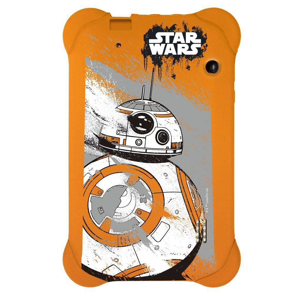 Capa Case Star Wars Tablet 7 Pol Emborrachada Universal Pr940