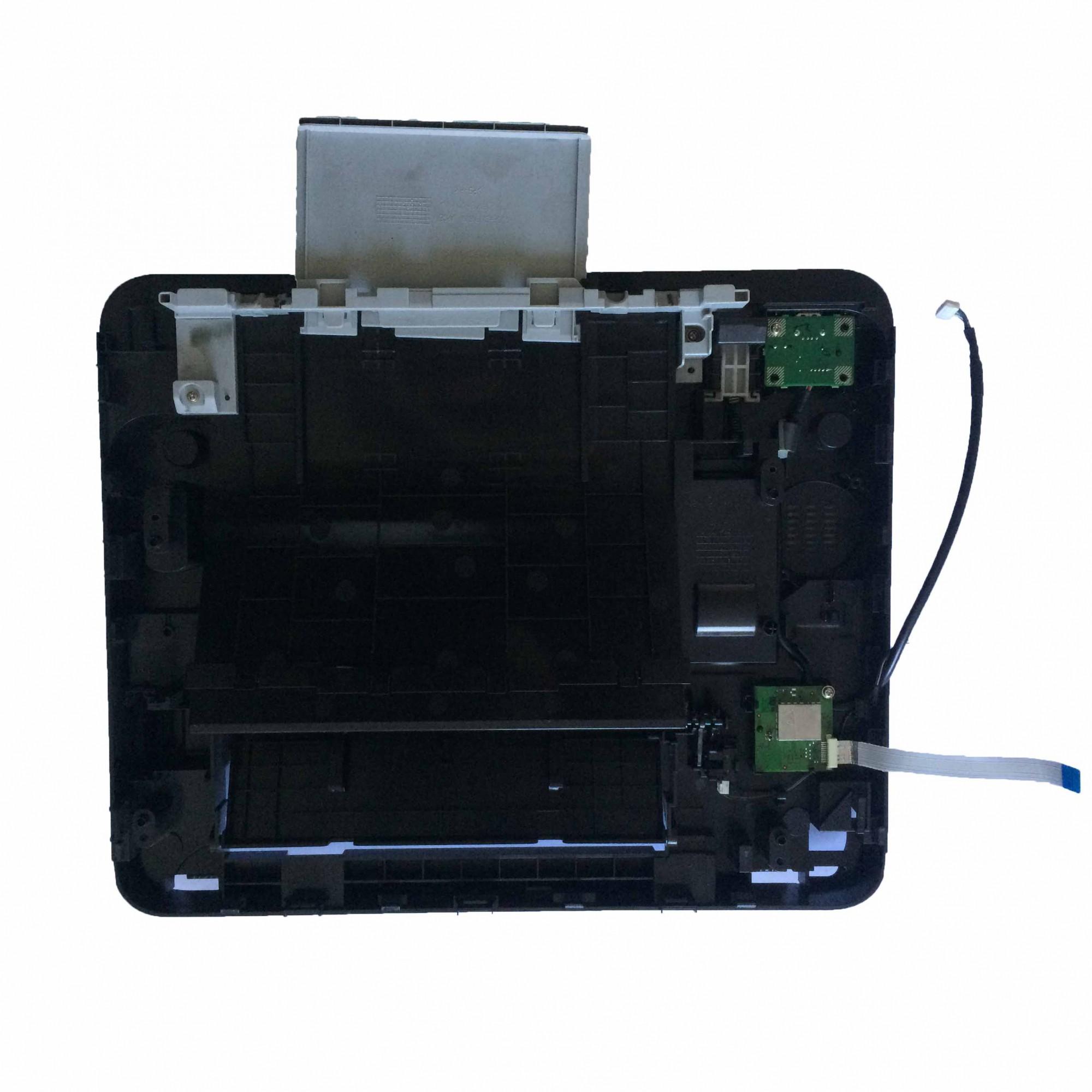 Carcaça Bandeja Saída Papel + Placas e Sensores Superiores Multifuncional Samsung Xpress M2885 - Retirado