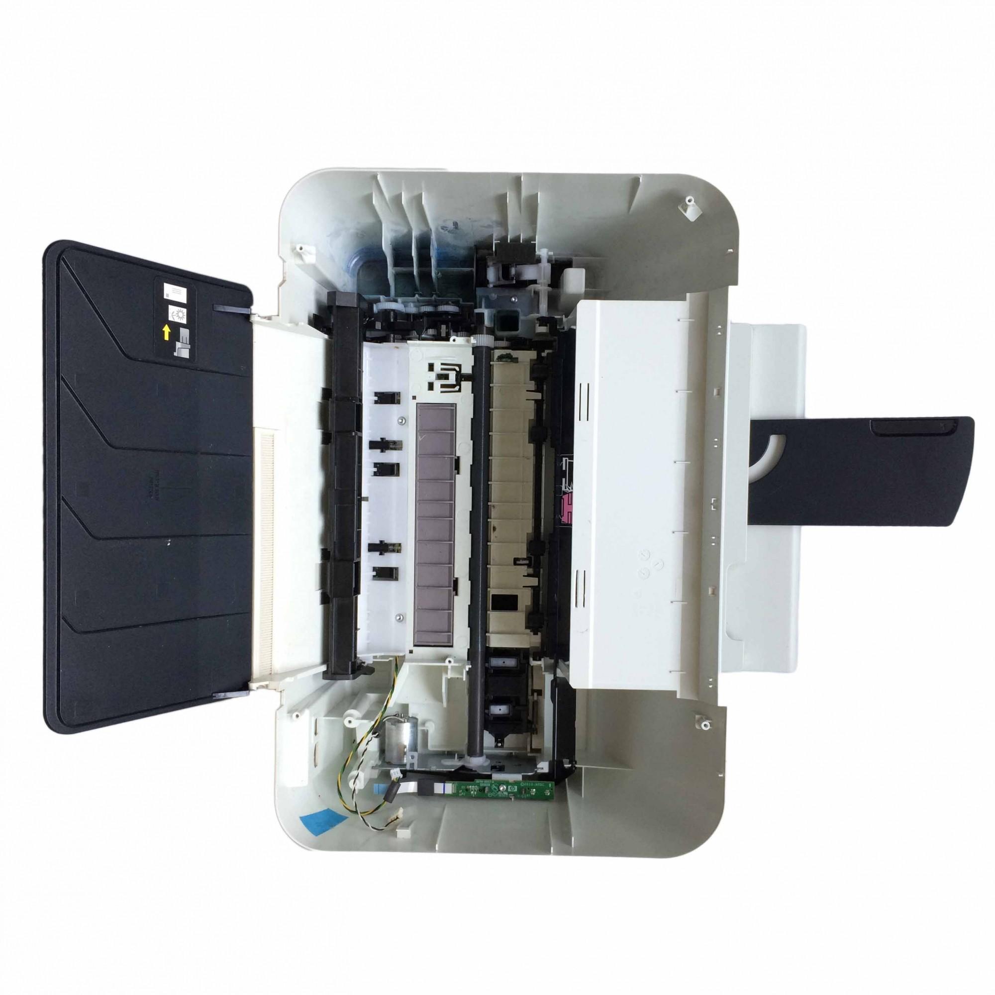 Carcaça Base C/ Mecânismo Completo Multifuncional HP Deskjet Ink Advantage 1516 - Retirado