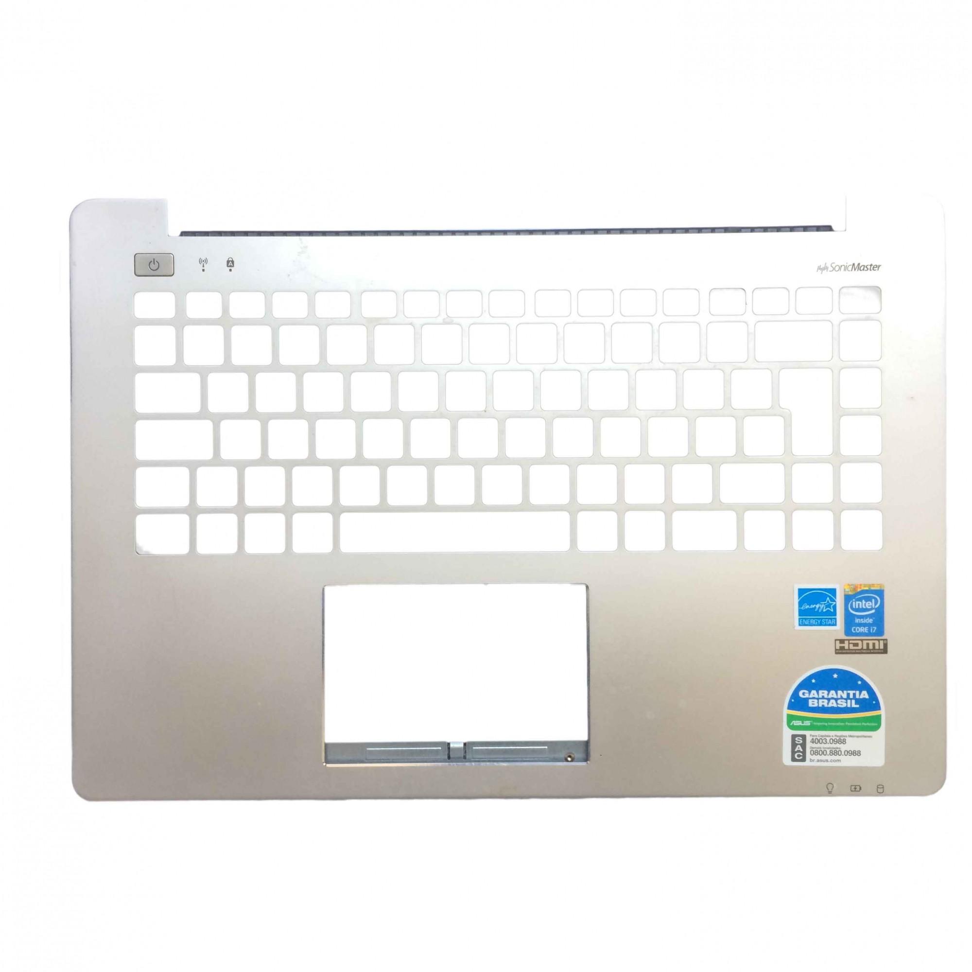 Carcaça Base Superior Notebook Asus S451LA  90NB02U1-R31GE0 PN:eazj1004010pc-bs - Retirado