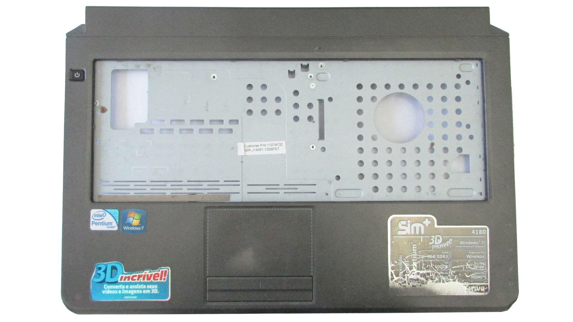 Carcaça Base Superior Positivo Sim+ 4151 68R-J14IM1-1009PST Semi Nova