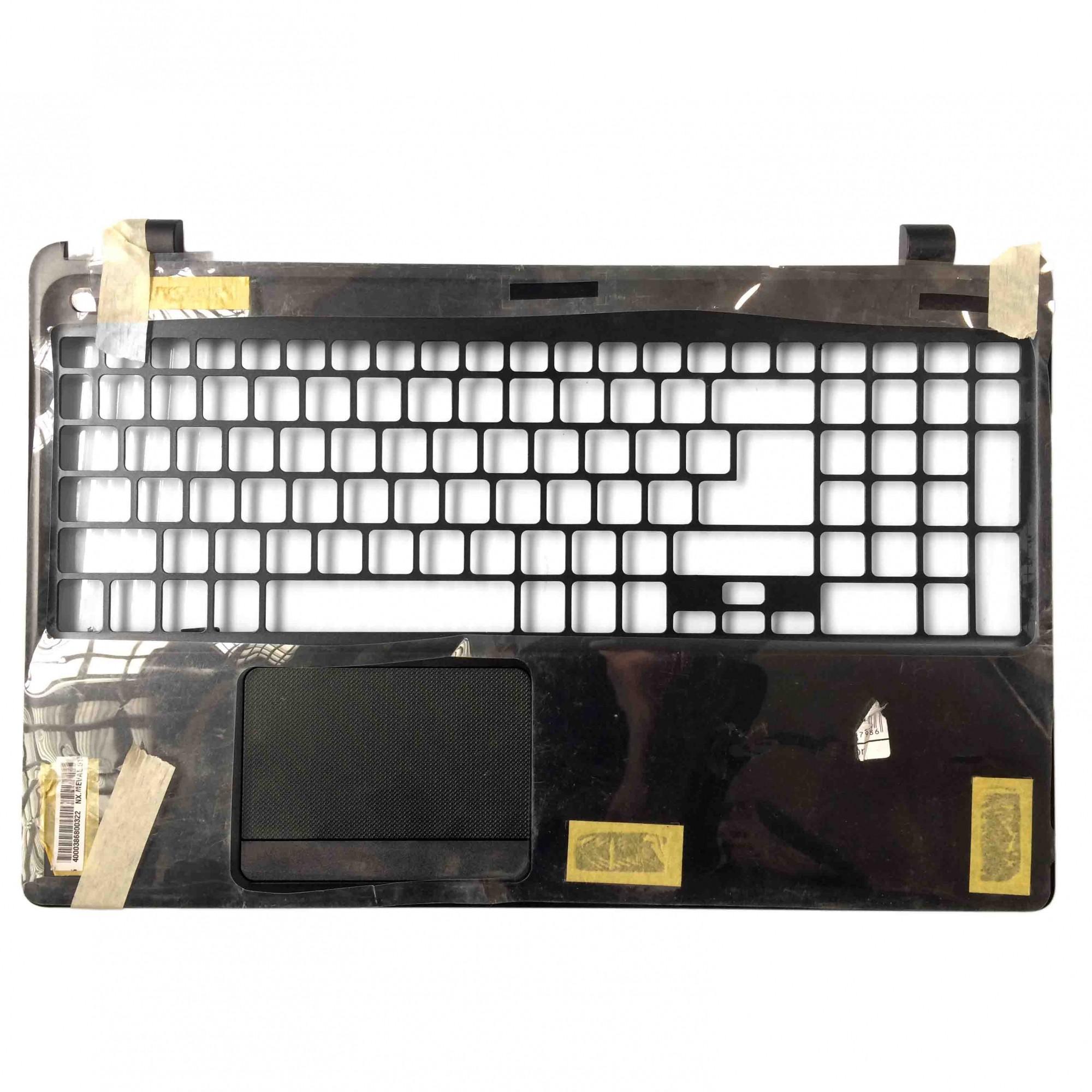 Carcaça Base Superior + TouchPad + Cabo Flat Notebook Acer Aspire E1-572 E1-510 PN:Ap0vr0007 - NOVO