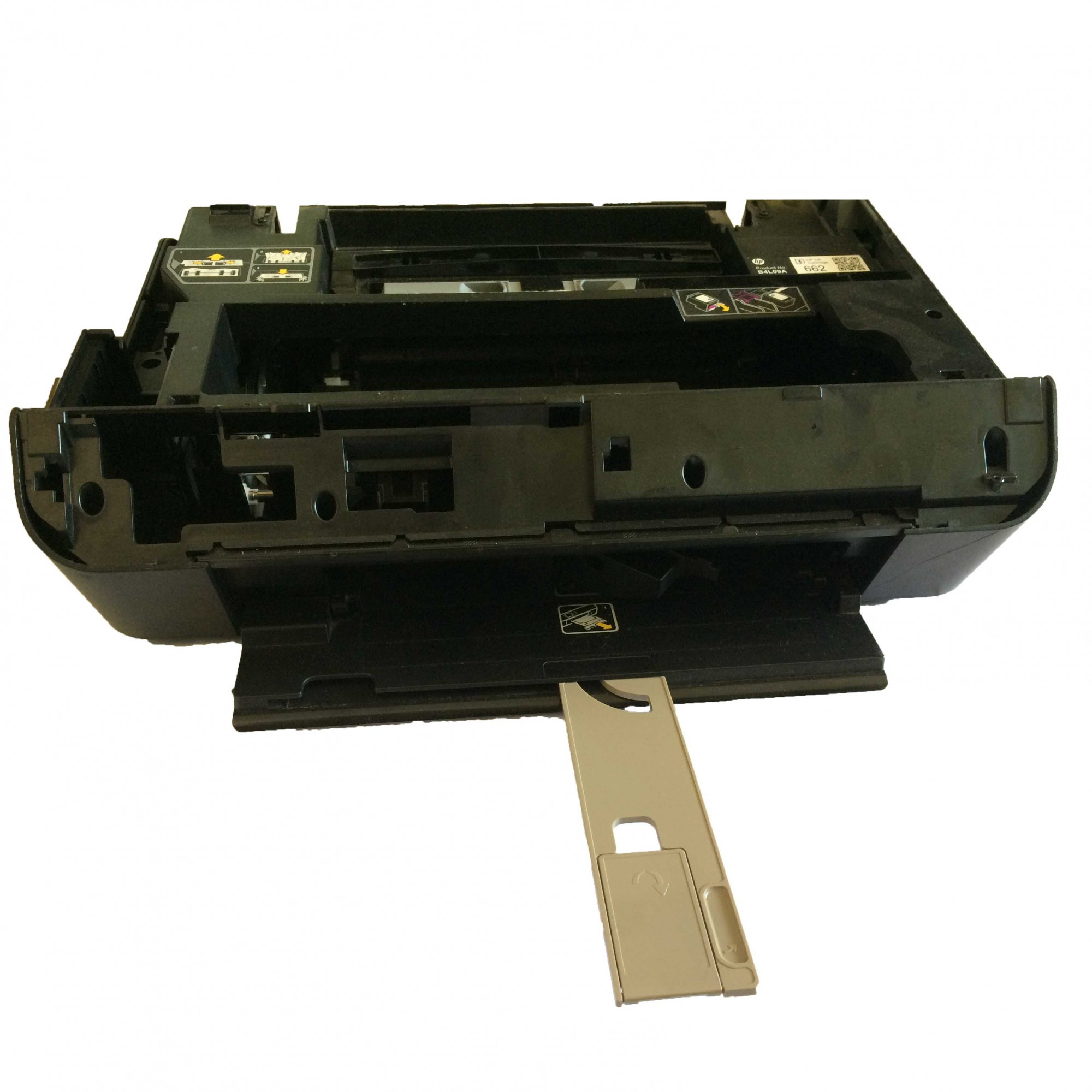 Carcaça inferior + Mecanismo completo Multifuncional HP Deskjet Ink Advantage 4646  - Retirado