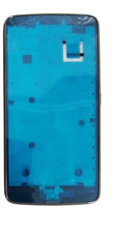 Carcaça Motorola Aro Lateral Moto G5 Cinza Xt1672