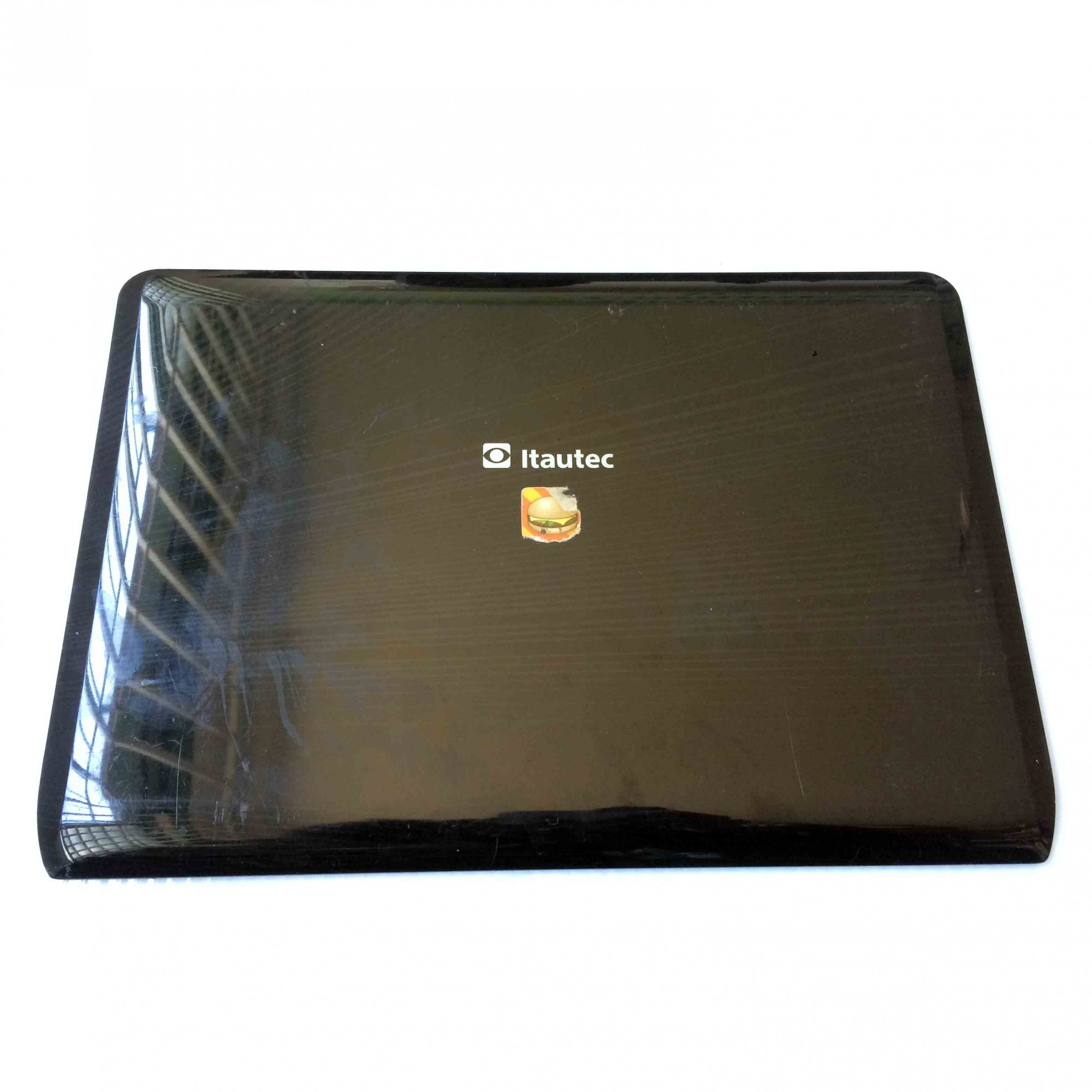 Carcaça Tampa LCD Notebook Itautec Infoway W7435 14 Pol. PN:Easw9007010 - Retirado