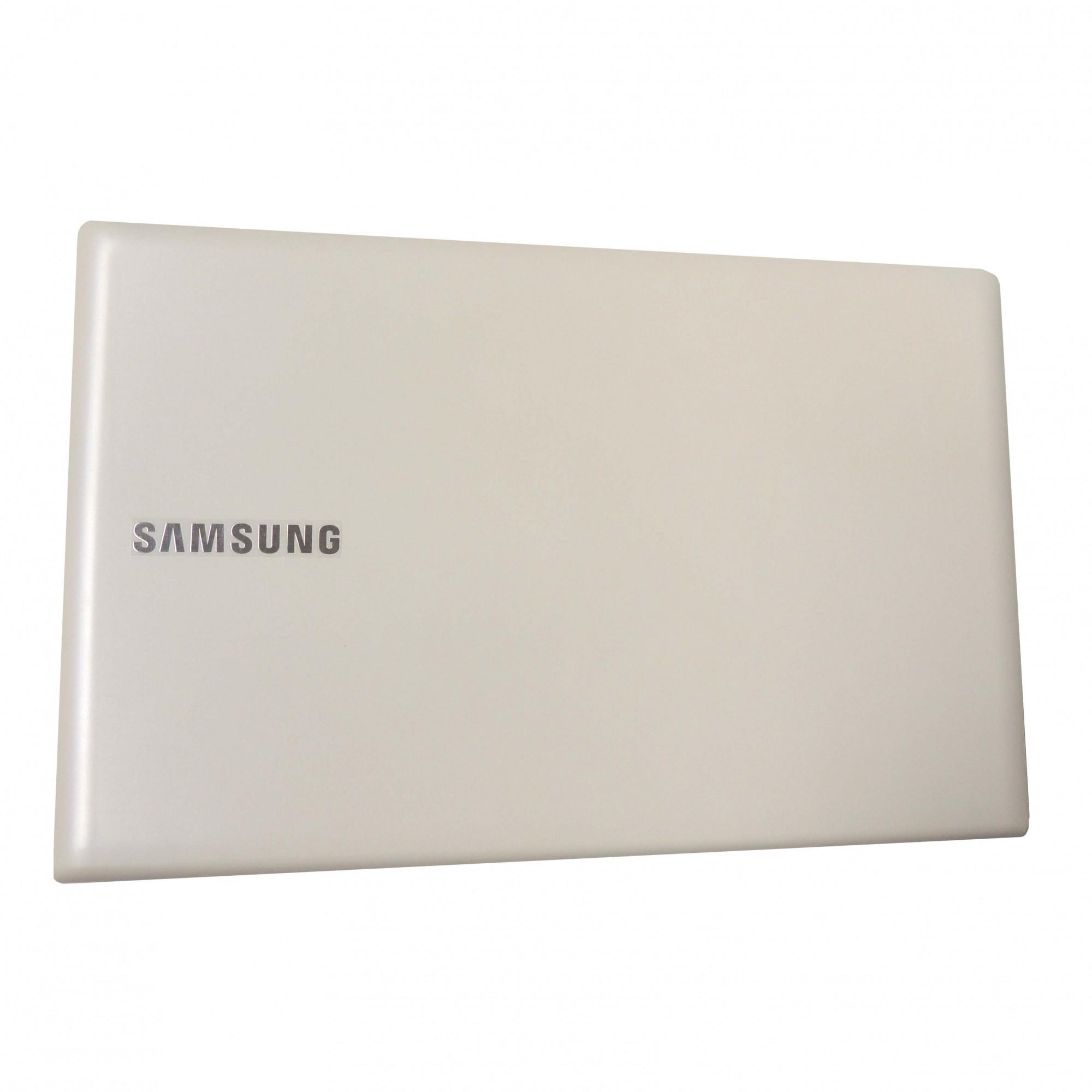 Carcaça Tampa Notebook Samsung Np270e5e Np270e5g Np270e5e Branco - NOVO
