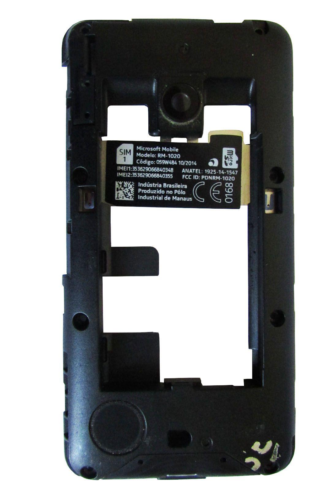 Carcaça Traseira Nokia Lumia 530 (semi novo)