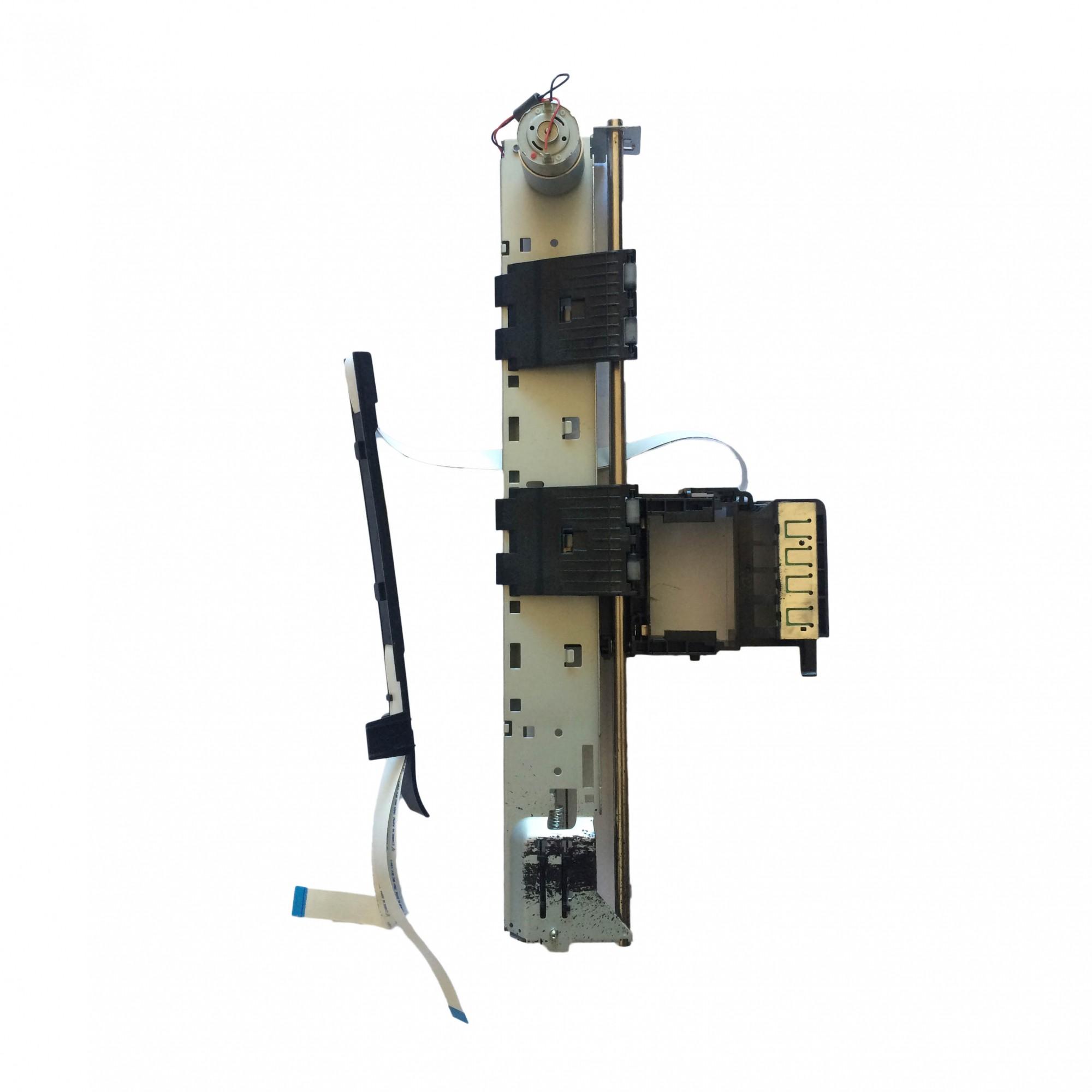 Carro de Impressão +Mecanismo e Cabo Flat HP 934 935 Officejet Pro 6220 6230 6830 6820 6815 6812 6835 PN:cq163-200014 - Retirado