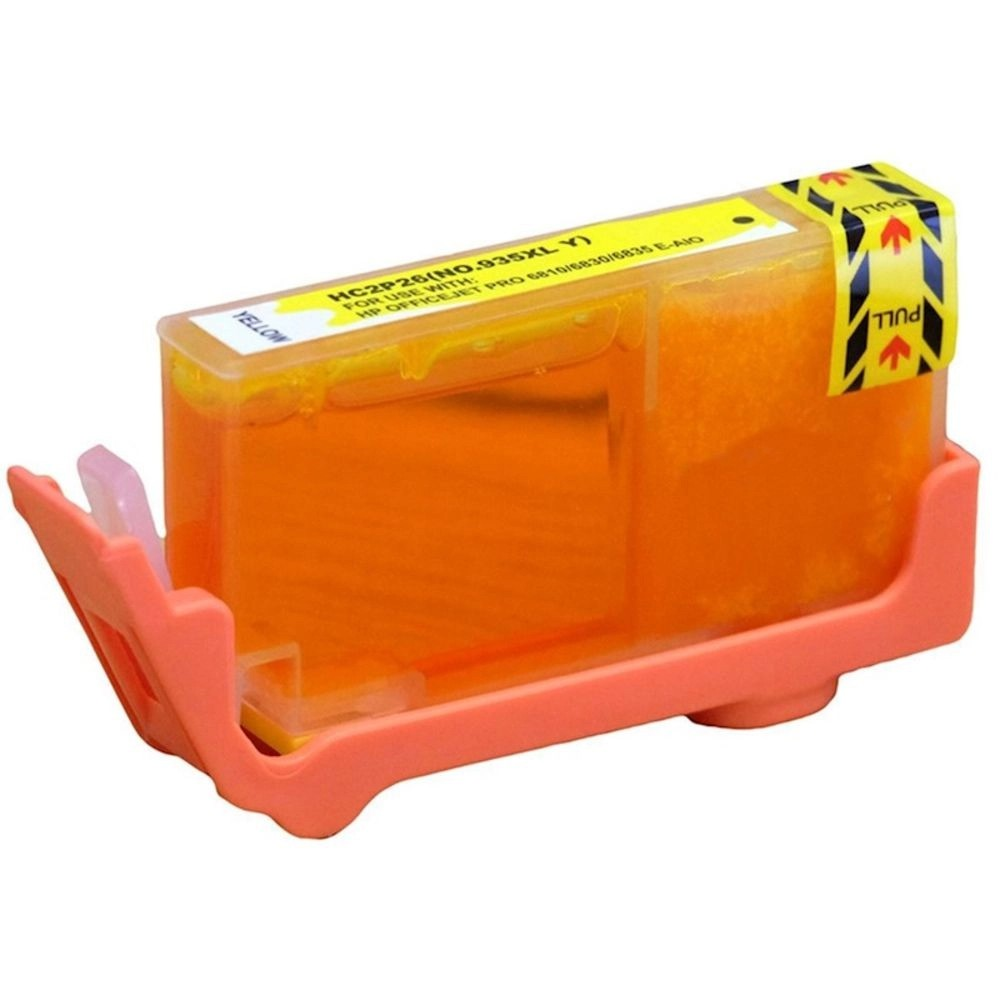 Cartucho Amarelo Jato De Tinta Compatível 935xl C2p24ab C2P26AL C2P26AN 6230 6830