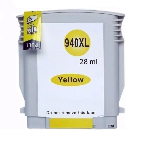 Cartucho Amarelo Jato De Tinta Compatível 940xl C4909A M-H940XL Y