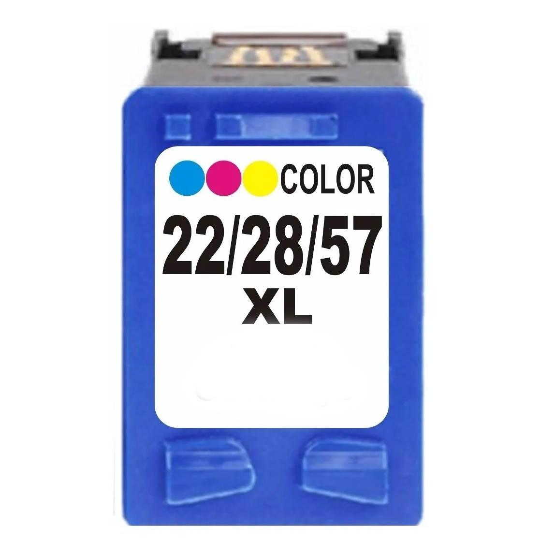 Cartucho Colorido Jato De Tinta Compatível 22xl 28xl 57xl - 22XL