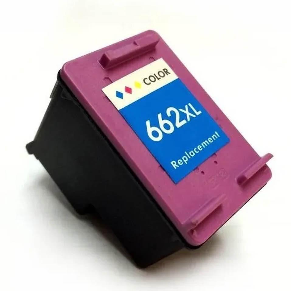 Cartucho Colorido Jato De Tinta Compatível 662xl Universal - 662xl