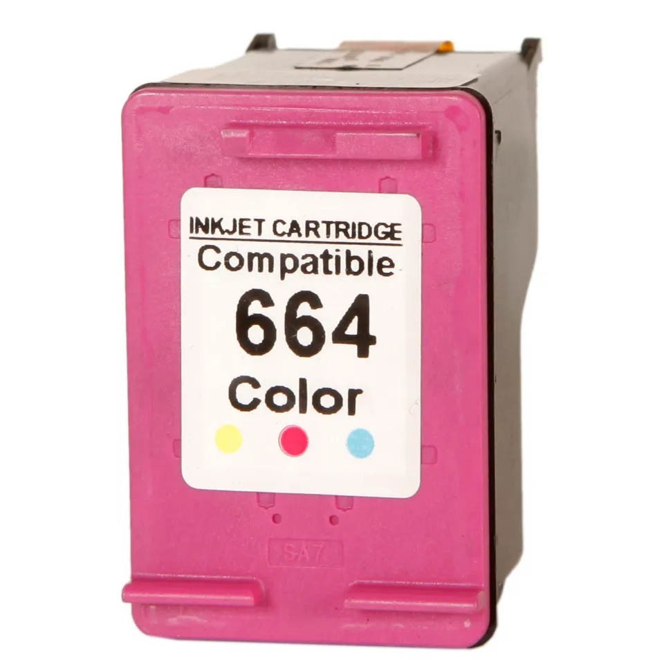 Cartucho Colorido Jato De Tinta Compatível 664 Universal - COLOR MJM