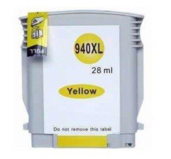 Cartucho Compatível 940XL Amarelo 28ML