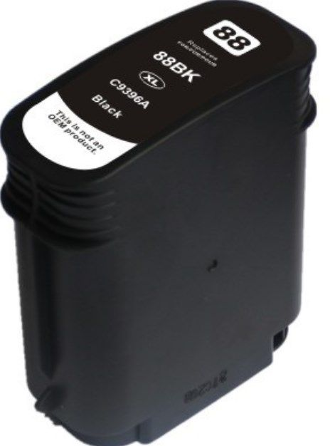 Cartucho de Tinta Compatível 88xl Preto