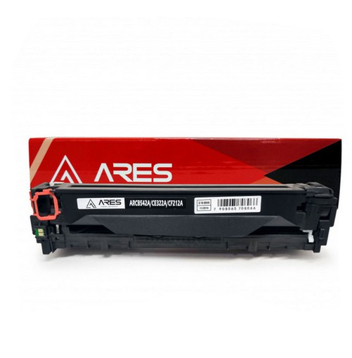 Cartucho Tonner Amarelo P/ Impressoras Laser Compatível CB542 ARCB542A CB542A CE322A CF212A - CB542