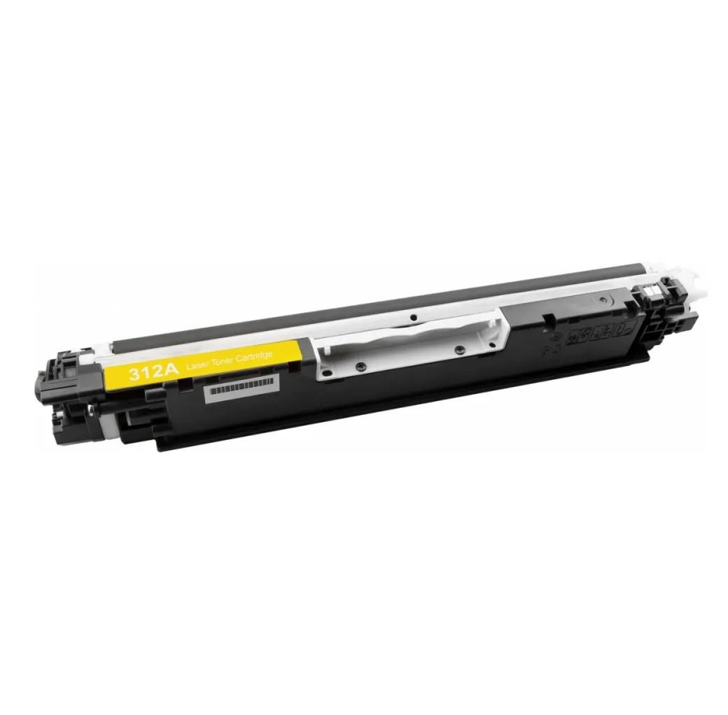 Cartucho Tonner Amarelo P/ Impressoras Laser Compatível Ce312 Cf352a 312a 126a - H802