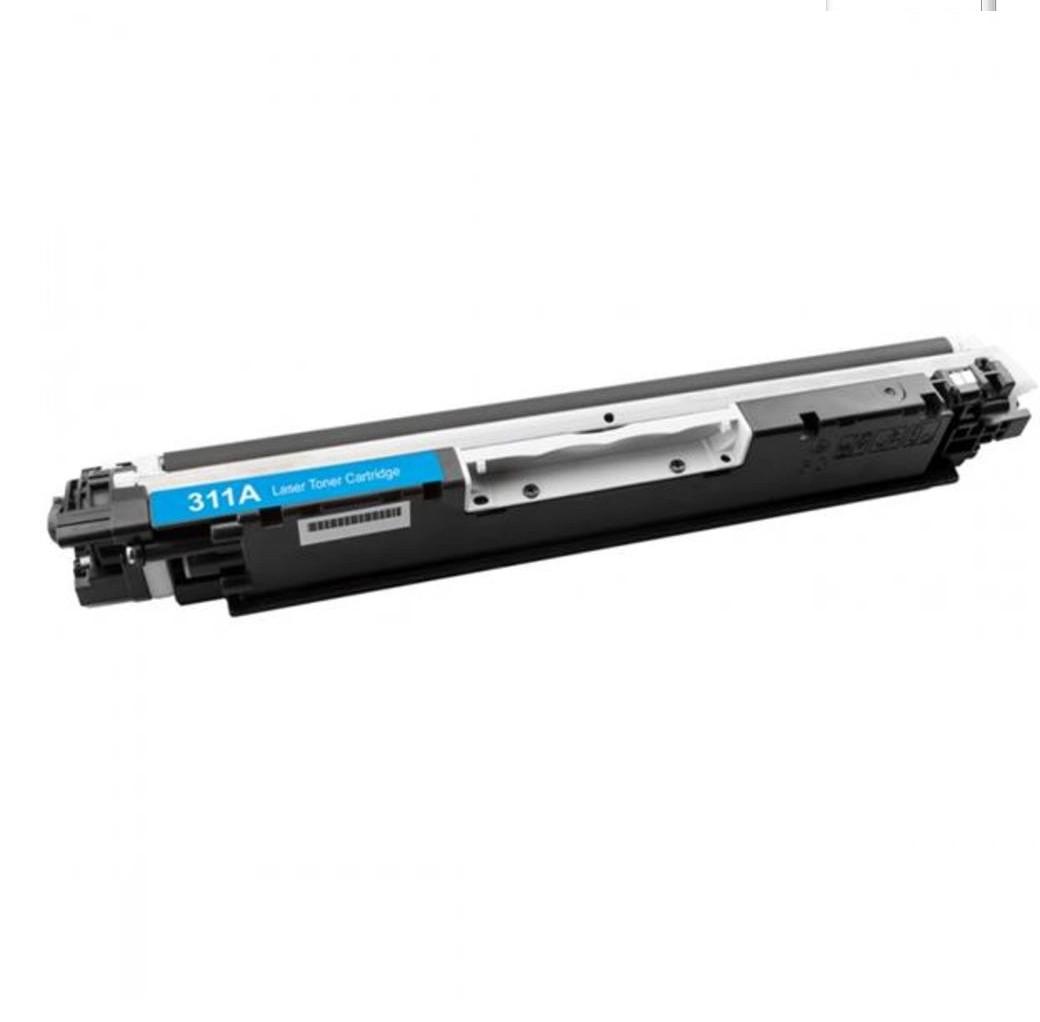Cartucho Tonner Ciano P/ Impressoras Laser Compatível Ce311a Cf351a 311A 126a - H801