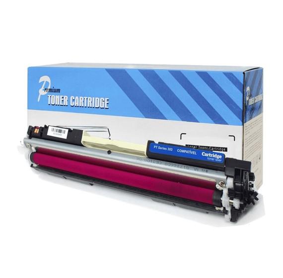Cartucho Tonner Magenta P/ Impressoras Laser Compatível Ce313a Cf353a 313A 126a - H803