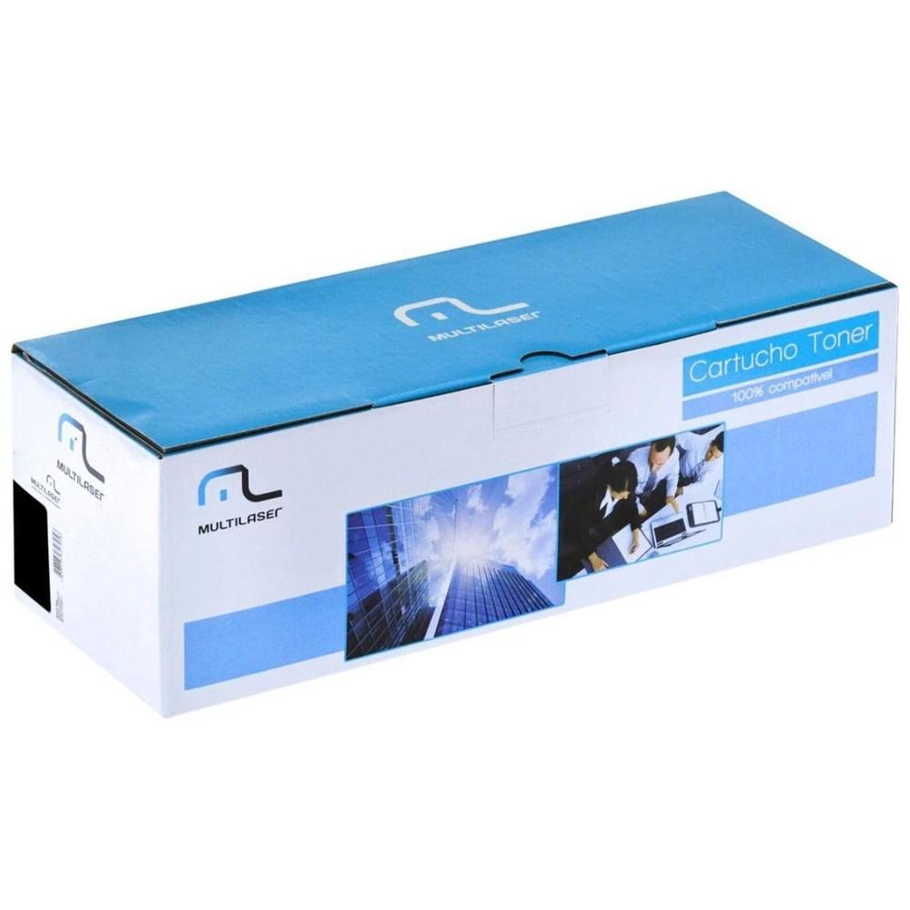 Cartucho Tonner Multilaser Preto P/ Impressoras Laser Compatível 2612a Ct12a - CT12A