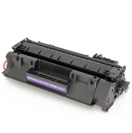 Cartucho Tonner Preto P/ Impressoras Laser Compatível CE505 CE505A 505A - 280A