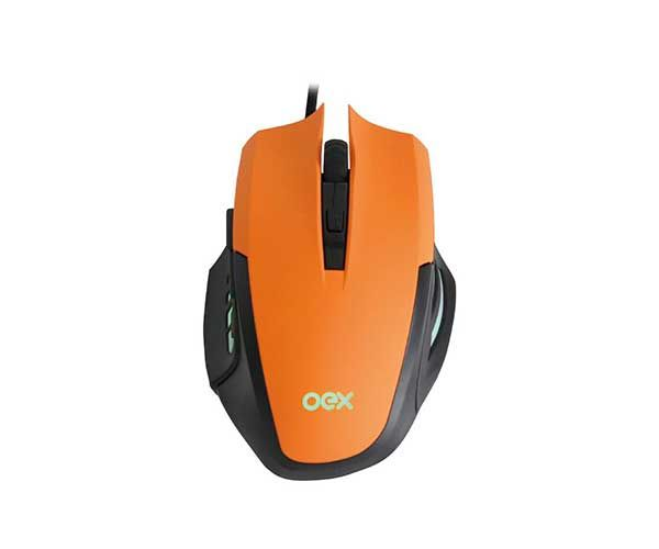 Combo Clash Gamer OEX Mouse 3200Dpi + Mousepad MC-103