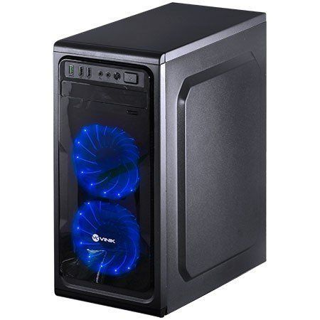 Computador CPU Top Gamer Amd Ryzen 5 1400 3.2Ghz 8GB DDR4 HD 1TB DVD-RW RX580 8GB Fonte 600W real