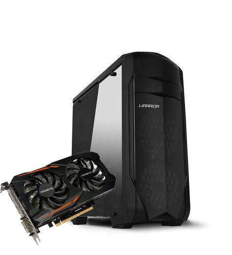 COMPUTADOR GAMER GUARDIAN'S AMD RYZEN  7 1700 3.0Ghz 8GB DDR4 HD 1TB 1050TI FONTE 500W REAL