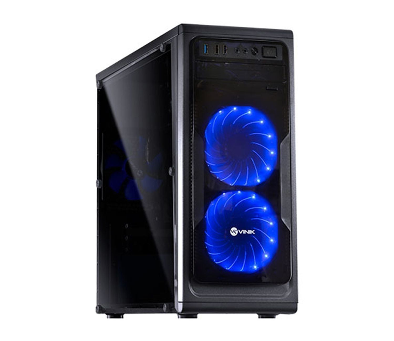 Computador CPU Top Gamer Amd Ryzen 7 1700 3.0Ghz 8GB DDR4 HD 1TB RX580 8GB Fonte 700W real