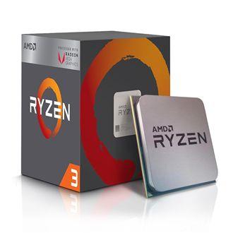 Computador Gamer CPU Amd Ryzen 3 2200G 3.5GHZ 8GB DDR4 SSD 120GB HD 1TB RX 570 4GB