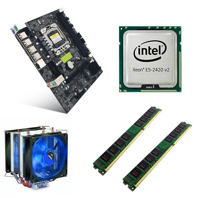 Computador Home CPU Intel Xeon E5 2420 V2 2.2GHZ 1356 8GB DDR3 SSD 120GB HD 1TB