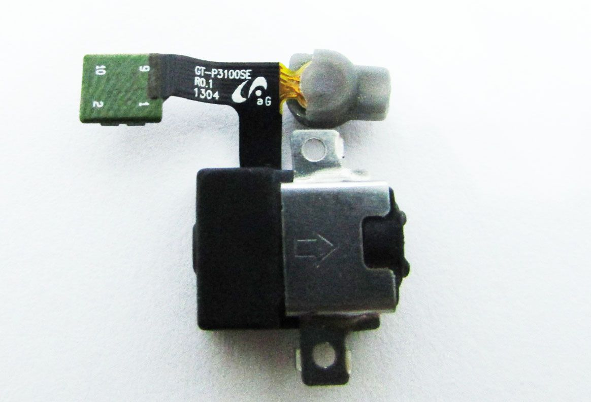 Conector Fone De Ouvido Tablet Samsung Gt-P3110 (semi novo)